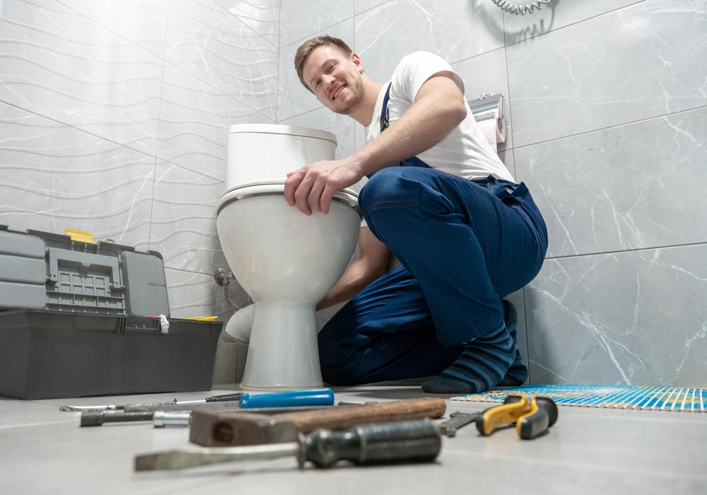 toilet installation and repair lake county il